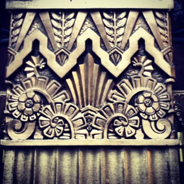 Art Deco detail Exchange Building, Seattle.