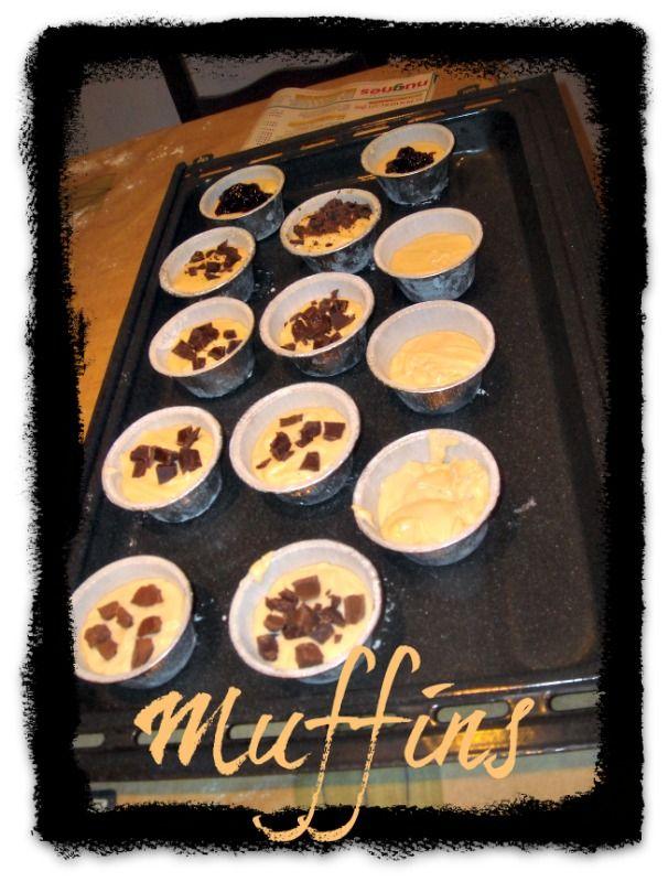 i miei muffin fatti qualche giorno fa!!!
