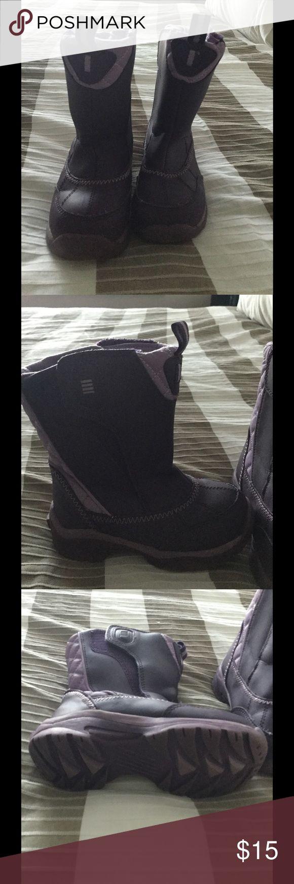 Kids snow boots Purple snow boots. Lands end Shoes Rain & Snow Boots