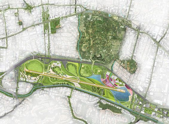 Pista Viva | Caracas Venezuela | Enlace Arquitectura « World Landscape Architecture – landscape architecture webzine