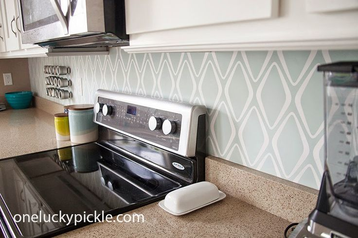 One Lucky Pickle: Instant {removeable} Backsplash for $30