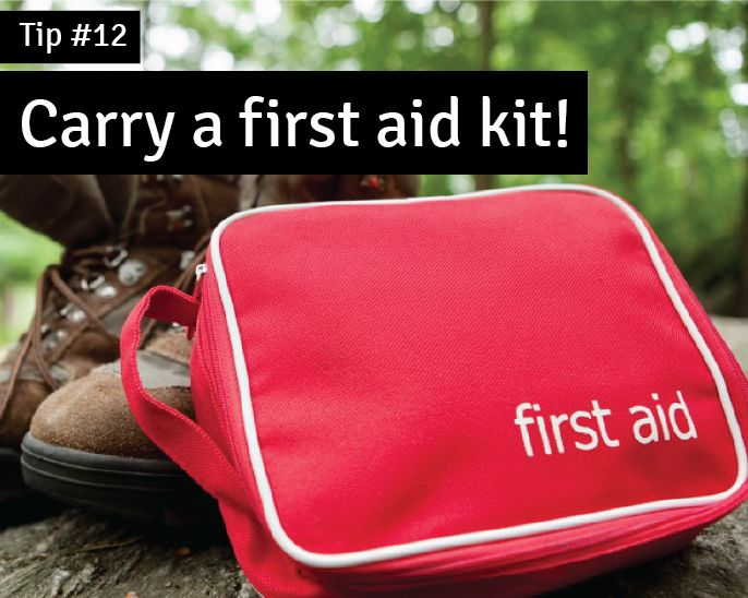 #Tip12 Carry a First Aid kit, always handy! #Staycation