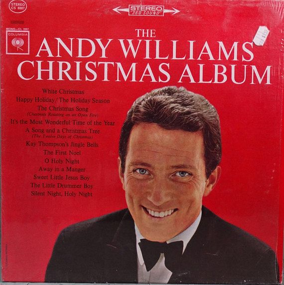 Andy Williams The Andy Williams Christmas Album 1966 LP