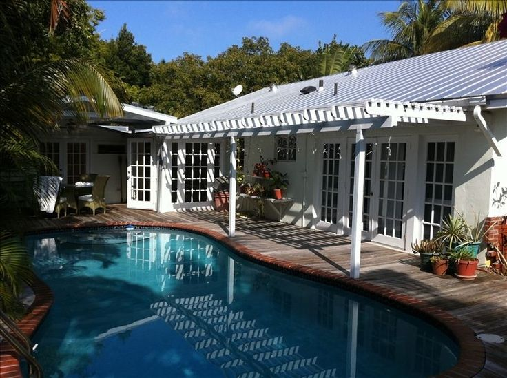 Key West house rental - Relax in the privacy of the secluded pool