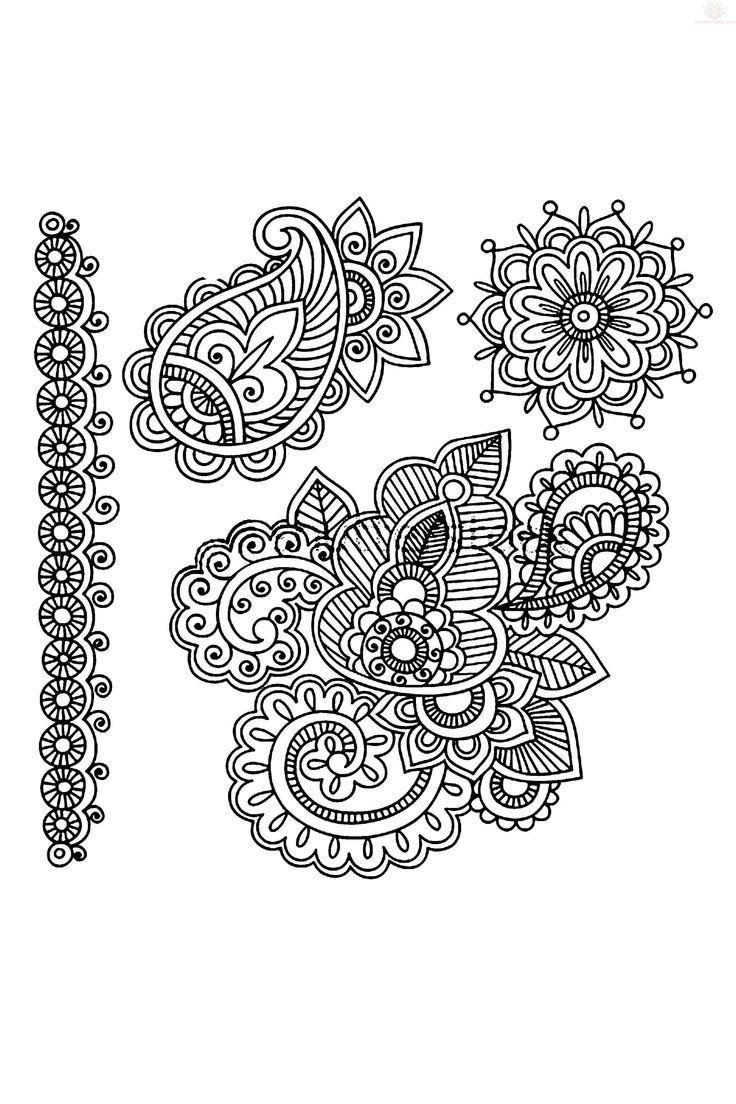 Paisley Tattoo Designs