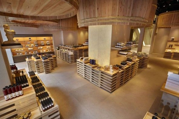 Kayanoya Shop / Kengo Kuma And Associates | AA13 – blog – Inspiration – Design – Architecture – Photographie – Art