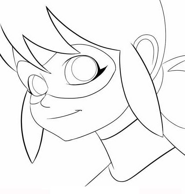 Ausmalbilder Ladybug Kopf Ladybug Coloring Page Cartoon