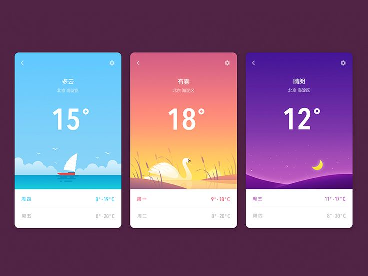 Weather App / Xiu yuan