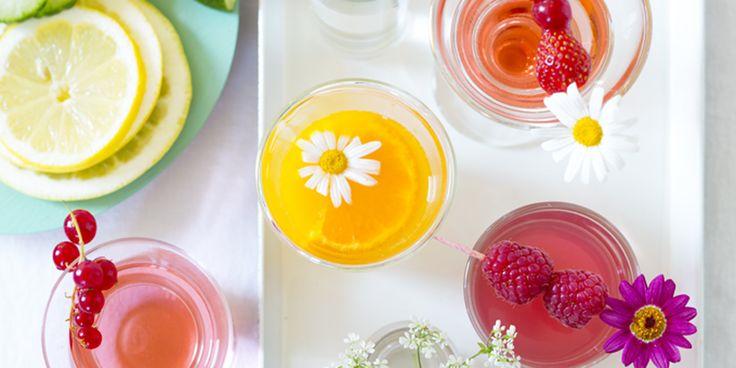 Créer des cocktails aromatisés à base de vodka