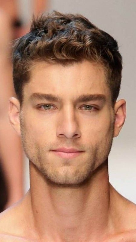 2019 Trendy Short Haircuts For Men Hairstyles Curly Hair Styles