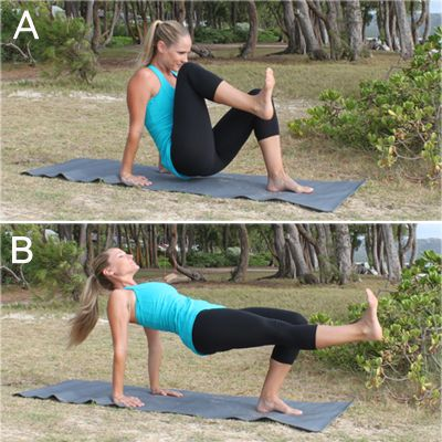 10 Crunch-Free Moves for Killer Abs: Kicks Tabletop, Front Kicks, Abs Workout, Killers Abs, Legs Lifting, Shape Magazines, 10 Crunches Fre, Crunches Fre Moving, Abs Moving