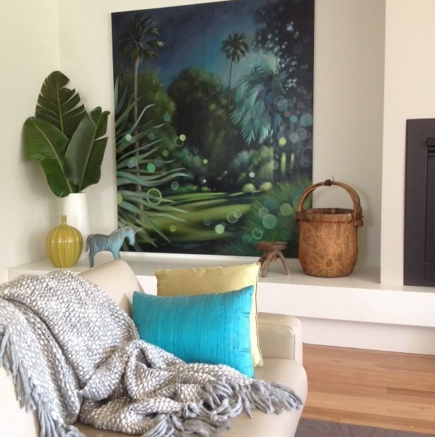Interior Design, styling and painting by chris Bellamy.