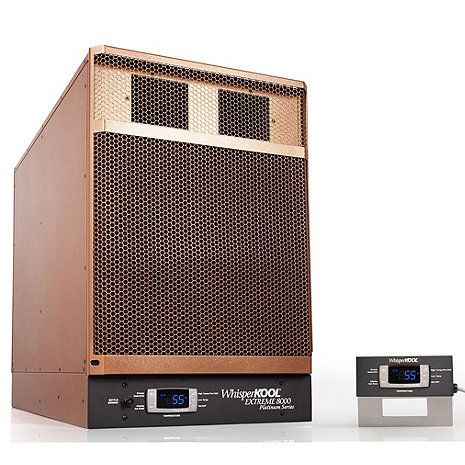 WhisperKOOL Platinum Extreme 8000ti Wine Cellar Cooling Unit with Remote (Max Room Size = 2000 cu ft) at Wine Enthusiast - $3,895.00