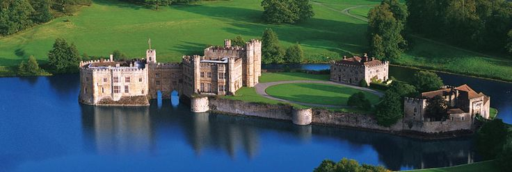 Leeds Castle, Maidstone, Kent, England