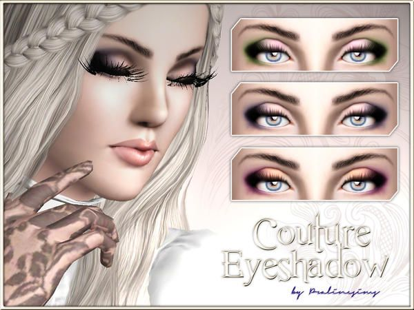 Couture Eyeshadow by Pralinesims - Sims 3 Downloads CC Caboodle