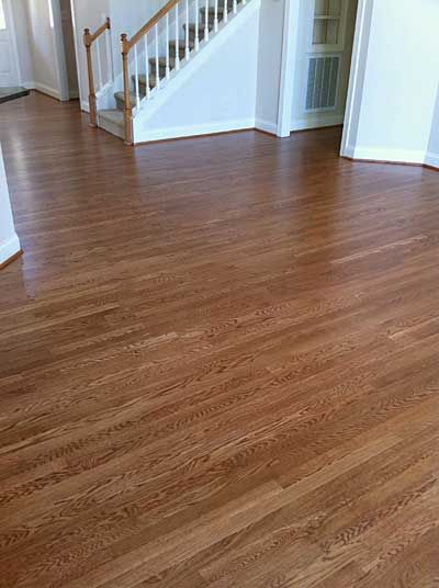 White Oak Hardwood Floors Stain Colors Dark Walnut