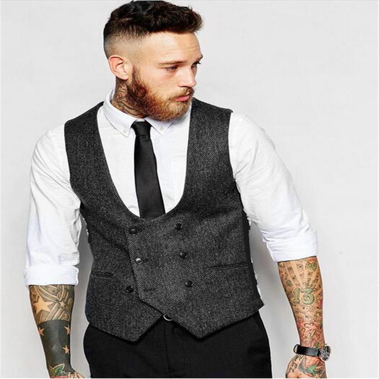 British Style Mens Retro Vest Suit Men's Vest Pluse Size Groom Wedding Nightclub Bar Party Waistcoat Male Slim Fit Dress Vests //Price: $50.54 & FREE Shipping //     #hashtag4