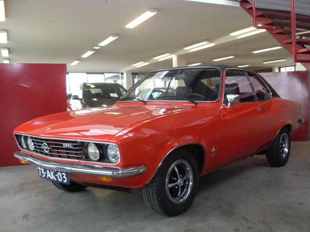 1974, Opel Manta 2.0