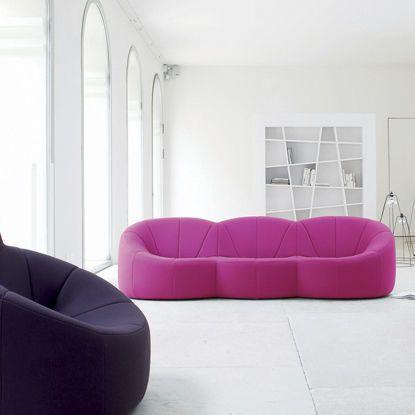 Contemporary Sofa / Polyurethane / Fabric / Commercial   PUMPKIN   Ligne  Roset Contracts. Modernes ...