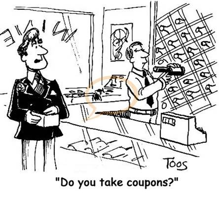 14 best coupon cartoons images on pinterest coupon coupon codes do you take coupons fandeluxe Images