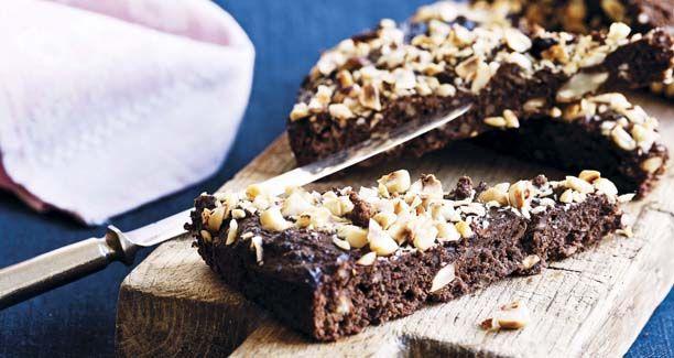Opskrift på sund chokoladekage | sukkerfri og glutenfri