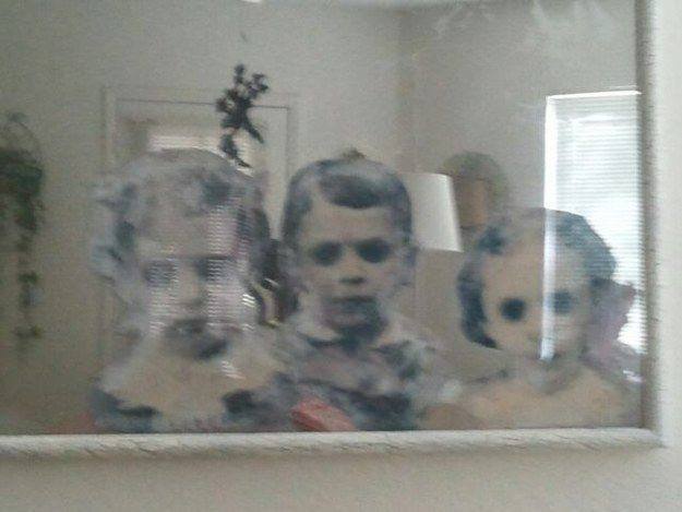 """You can also make your mirror """"haunted."""" 