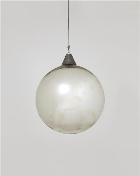"nicoonmars:    BAUHAUS Mirror ball for the ""Metallisches Fest,"" Dessau, ca. 1929"