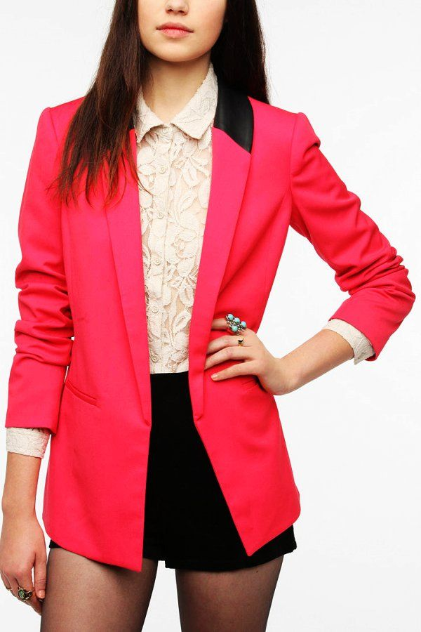 Red Fitted Blazers for Women - Fitted Blazers for Women www.loveitsomuch.com