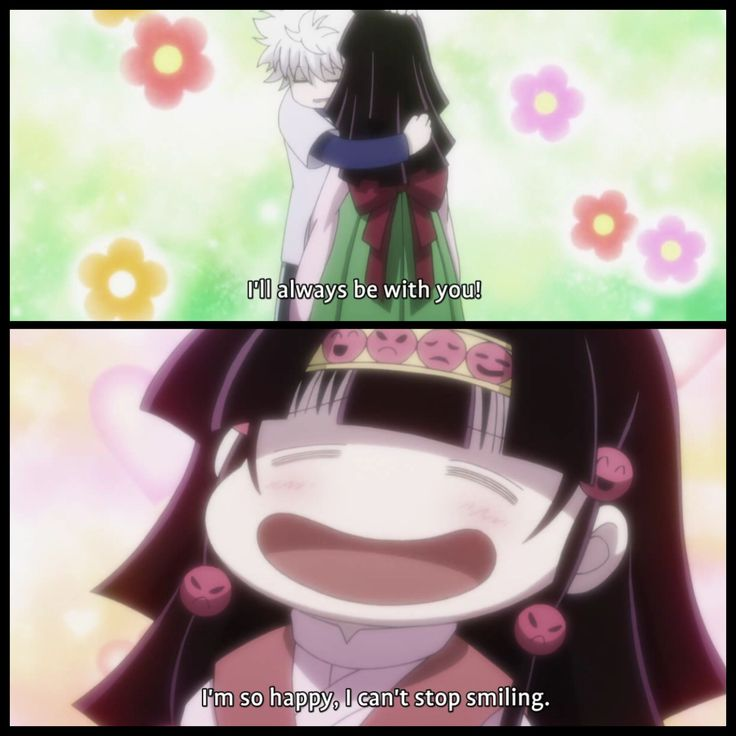 "Alluka is adorable. She's one of my favorite characters, and Killua is the only one who uses feminine pronouns when talking about her. I like that because it shows he is the only one who accepts that she identifies as a woman even though physically she is male. It shows who really loves her, and her family can suck it because they treated her like crap, and continuously call her ""master"" or ""him."" Adorable brother and sister relationship."