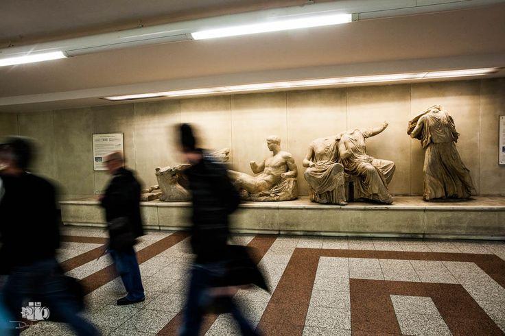Athens_Metro_Art by Dimitris Vlaikos