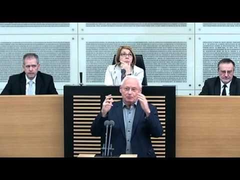 Oskar Lafontaine, am 16. März 2016 im Saarländischen Landtag zum Thema #Altersarmut. #oskar #Lafontaine #oskarlafontaine #hartz4 #agenda2010 #Grundsicherung #dielinke #linksfraktionsaar