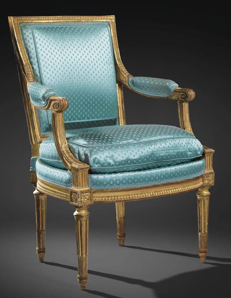 date unspecified A SET OF FOUR GILTWOOD ARMCHAIRS, LOUIS XVI, STAMPED G. IACOB Estimate 40,000 — 60,000 EUR 53,119 - 79,679USD LOT SOLD. 63,150 EUR (83,862 USD) (Hammer Price with Buyer's Premium)