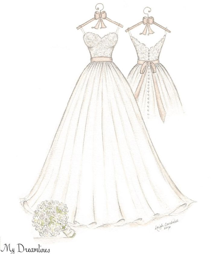 1000 images about a wedding dress sketch by dreamlines on