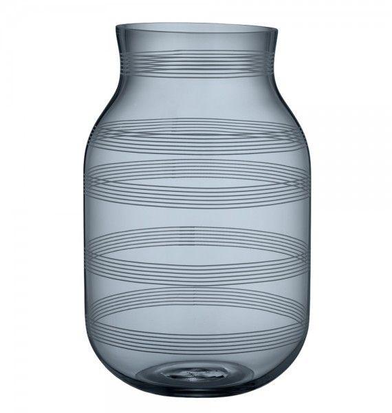 KÄHLER DESIGN - Glasvase Omaggio, 28cm| SCHÖNER WOHNEN-Shop Die Omaggio Vase ist Kult in Dänemark und ein unbedingtes Muss für jeden Dänemark Fan.