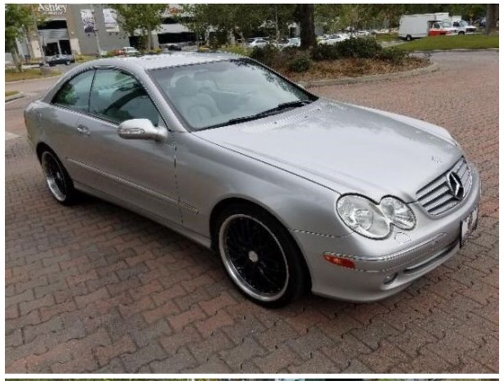My 2004 Mercedes CLK 320