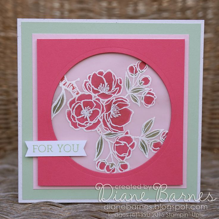 Exceptional Card Making Ideas Using Vellum Part - 11: For You Card Using Stampin Up Indescribable Gift Stamps U0026 Stained Glass  Technique Using Markers U0026