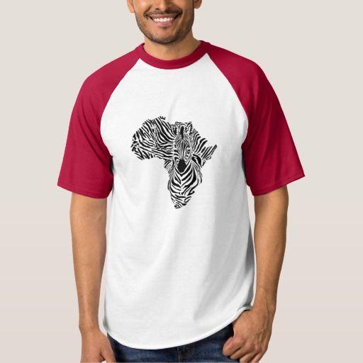 Africa Zebra men's shirt