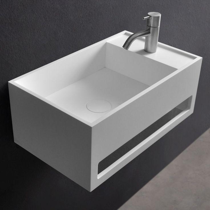 les 18 meilleures images du tableau vasques suspendues ambra sur pinterest solid surface. Black Bedroom Furniture Sets. Home Design Ideas