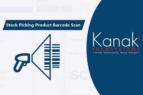 Stock Picking Product Barcode Scan App Barcode Pick Line