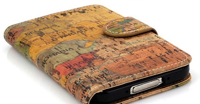 Geography Vintage Premium Diary Case for iPhone 4/4S
