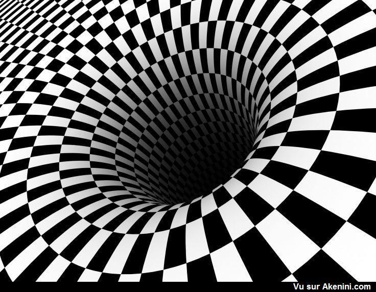 Effets optiques illusions de mouvement optical illusion moving illusions sympas - Illusion optique dessin ...