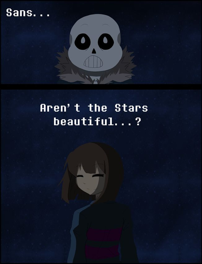 Aren T Infographics Just The: Undertale- Aren't The Stars Beautiful...? By K