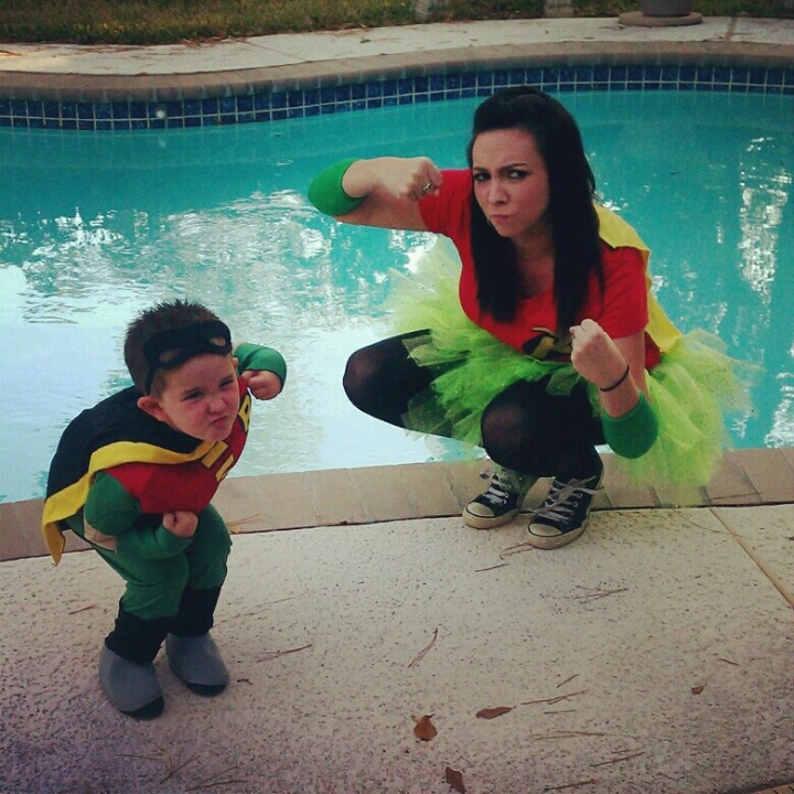 Mommy & son costume :]