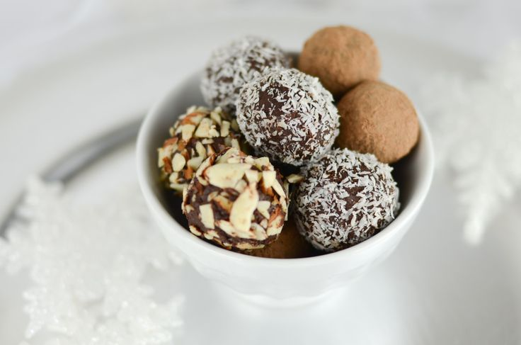 Chocolate Truffles with Coconut Oil kitchen.nutiva.com