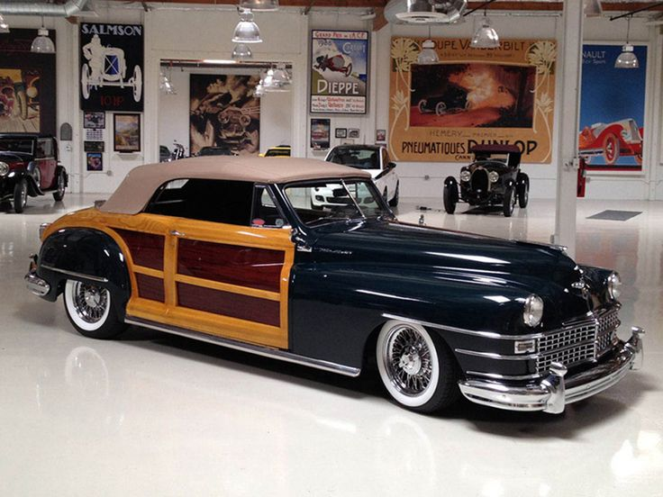 17 best images about woodie dreams plymouth cars 1948 chrysler town country convertible