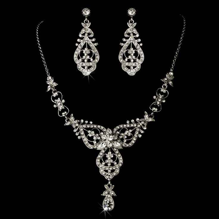 21 best Vintage Bridal Jewelry Sets images on Pinterest Bridal