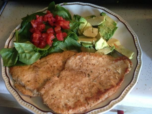Parmesan chicken breast weight watcher