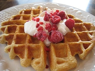 Homemade waffle mix/recipe; I tweaked this a little and it turned out great!