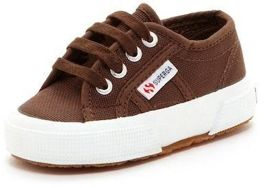 Superga Canvas Lace-Up Oxford Sneaker (Toddler & Little Kid)