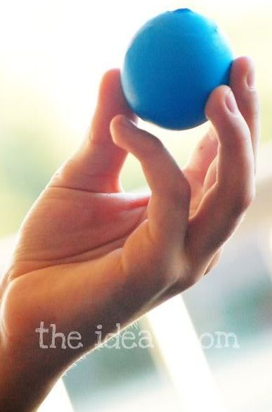 To do this summer - make bouncy ball out of a balloon.